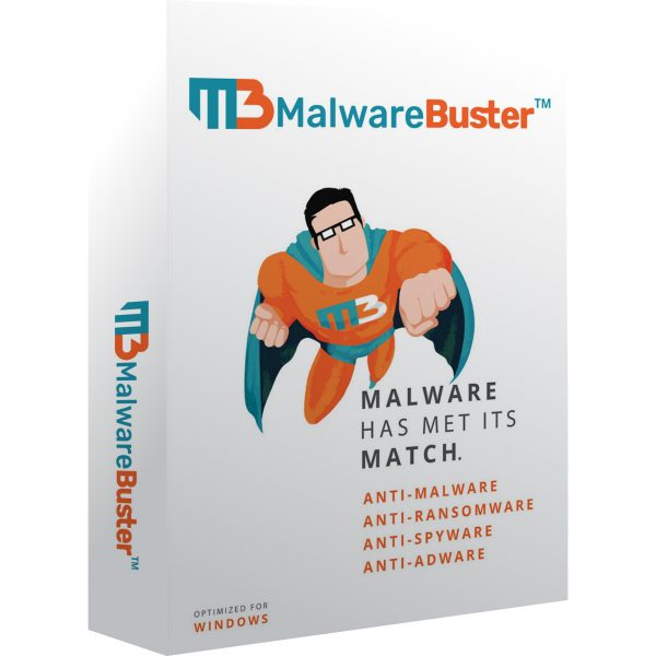 MalwareBuster Box Shot